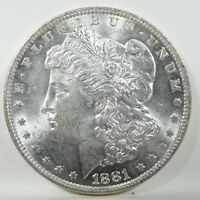 1881-O MORGAN DOLLAR CHOICE BRILLIANT UNCIRCULATED SILVER DOLLAR