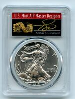 2016  P  $1 AMERICAN SILVER EAGLE 1OZ PCGS MS70 THOMAS CLEVE