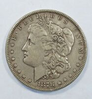 1878 7-TAIL FEATHER REVERSE OF 1878 MORGAN $  EXTRA FINE   SILVER DOLLAR