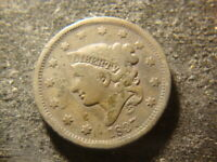 1831 AND 1837 CORONET HEAD LARGE CENTS HZX