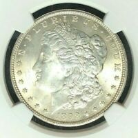1898-O MORGAN DOLLAR SILVER DOLLAR - NGC MINT STATE 63 BEAUTIFUL COIN REF98-008
