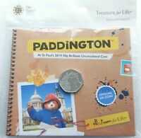 2019 ROYAL MINT PADDINGTON ST PAULS CATHEDRAL 50P FIFTY PENCE COIN PACK SEALED