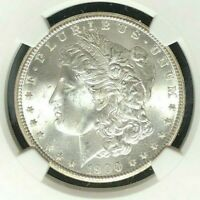 1900-O MORGAN SILVER DOLLAR  NGC MINT STATE 64 BEAUTIFUL COIN  REF82-010