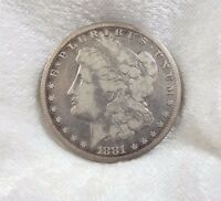 1881-CC MORGAN DOLLAR FINE CARSON CITY SILVER $