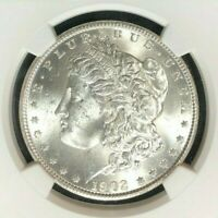 1902-O MORGAN SILVER DOLLAR - NGC MINT STATE 63 BEAUTIFUL COIN REF58-036