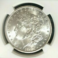 1900-O MORGAN SILVER DOLLAR  NGC MINT STATE 64  BEAUTIFUL COIN REF28-076