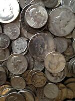 ESTATE SALE   VINTAGE COINS & CURRENCY LOT   OVER 70  OLD US