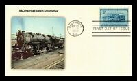 DR JIM STAMPS US BALTIMORE OHIO RAILROAD SCOTT 1006 UNSEALED