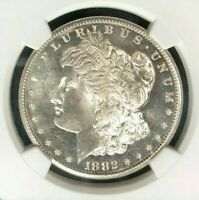 1882-S MORGAN SILVER DOLLAR - NGC MINT STATE 67 WOW BEAUTIFUL COIN STAR GRADE