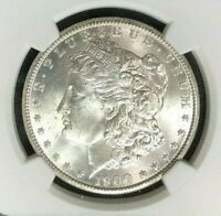 1900-O MORGAN SILVER DOLLAR  NGC MINT STATE 64 BEAUTIFUL COIN   REF 28-081