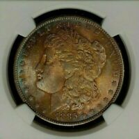 1885-O NGC MINT STATE 64 MORGAN SILVER DOLLAR - GENE L.HENRY GREAT NORTHWEST REF13-028