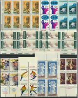 U.S. STAMPS   MNH   MULTIPLES   FACE VALUE: $25.34   LOT A 6