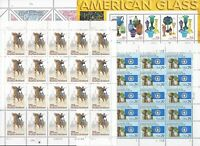 $62.02 FACE VALUE SHEETS ALL MNH.