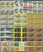 U.S. STAMPS   MNH   MULTIPLES   FACE VALUE: $25.15   LOT A 6