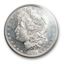 1881 S $1 MORGAN DOLLAR PCGS MINT STATE 64 PL UNCIRCULATED PROOF LIKE REVERSE LOOKS D