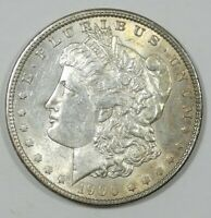 1900 MORGAN DOLLAR ALMOST UNC SILVER $