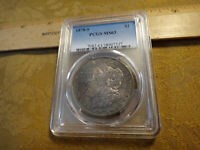 1878-S UNITED STATES MORGAN SILVER DOLLAR $1 PCGS MINT STATE 63 TONED - FREE S&H USA