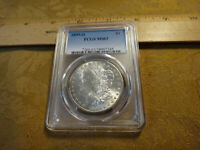 1899-O UNITED STATES MORGAN SILVER DOLLAR $1 PCGS MINT STATE 63 - FREE S&H USA