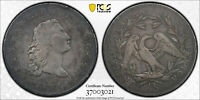 C13022- 1794 FLOWING HAIR SILVER DOLLAR PCGS VF DETAILS -  SUPER