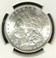 1888 VAM 18 NGC MINT STATE 62 MORGAN SILVER DOLLAR-GENE L HENRY LEGACY COLLECTION REF058
