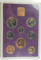 1970 GREAT BRITAIN UK PROOF SET OF 8 COINS