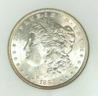 1888 MORGAN SILVER DOLLAR - NGC MINT STATE 63 BEAUTIFUL COIN  REF25-014