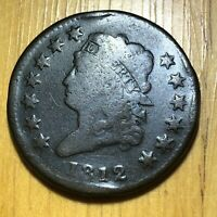 BETTER 1812 CLASSIC HEAD US LARGE CENT  NO RESERVE