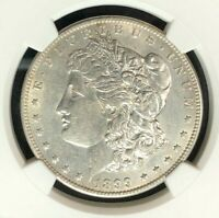 1899-O VAM 6 NGC AU 53 MORGAN SILVER DOLLARGENE L HENRY LEGACY COLLECTION 002
