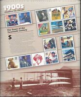 CELEBRATE THE CENTURY SHEETS SET OF 12 $48.90 FACE MNH.