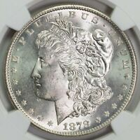 1878 S NGC MINT STATE 64 MORGAN SILVER DOLLAR ITEMT12327