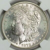 1878 S NGC MINT STATE 64 MORGAN SILVER DOLLAR ITEMT12329