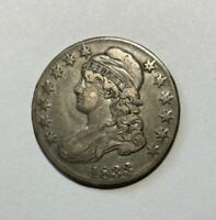 1833 CAPPED BUST HALF DOLLAR VF OR BETTER
