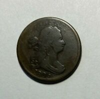 1806 DRAPED BUST 1/2 CENT LOWER MINTAGE 356,000
