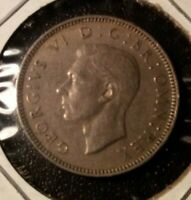 1948 GREAT BRITAIN ONE 1 SHILLING COIN FEATURING KING GEORGE VI