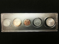 WW2 GERMAN COINS SET WITH SECURE DISPLAY CASE HISTORICAL WW2 ARTIFACTS