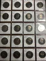 LOT OF 20 GEM PROOF UNCIRCULATED KENNEDY HALF DOLLARS 1971 S