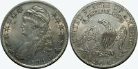 1819 CAPPED BUST HALF DOLLAR   AU DETAILS   EARLY SILVER U.S