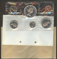 1963 CANADA SILVER PROOF LIKE MINT SET PL WITH ENVELOPE   MI