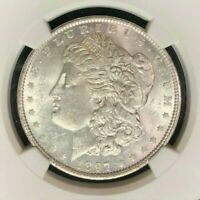 1897 VAM 6A NGC MINT STATE 62 MORGAN SILVER DOLLARGENE L HENRY LEGACY COLLECTION 030