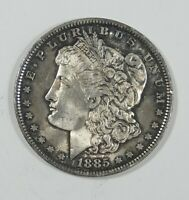 1885-O MORGAN DOLLAR  BRILLIANT UNC SILVER DOLLAR  OLD ANTIQUE TONE