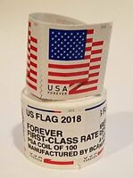 1 COIL  BRAND NEW SEALED ROLL / 100 USPS FOREVER POSTAGE STAMPS