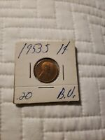 BU 1935-P LINCOLN CENT .99 CENT SHIPPING  51