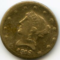 1906 / 1853 RD LIB G1$ US GOLD / CAL GOLD / UNKNOWN