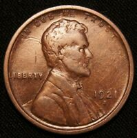 1921-S LINCOLN WHEAT CENT, BETTER DATE