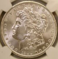 1899 O MORGAN SILVER DOLLAR DOUBLED 1 VAM 11 NGC MINT STATE 65  GORGEOUS BEAUTY