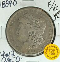 1889-O MORGAN SILVER DOLLAR  F/VF  VAM 2 OVAL
