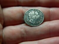 UN RESEARCHED WILLIAM & MARY SILVER MAUNDY GROAT COIN 4P DET