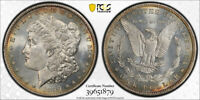 1899 $1 MORGAN DOLLAR PCGS MINT STATE 65 UNCIRCULATED TONED EXCEPTIONAL