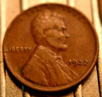 1932-P LINCOLN WHEAT CENT 1C.   5521