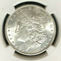 1897 VAM 6A NGC MINT STATE 62 MORGAN SILVER DOLLARGENE L HENRY LEGACY COLLECTION 029